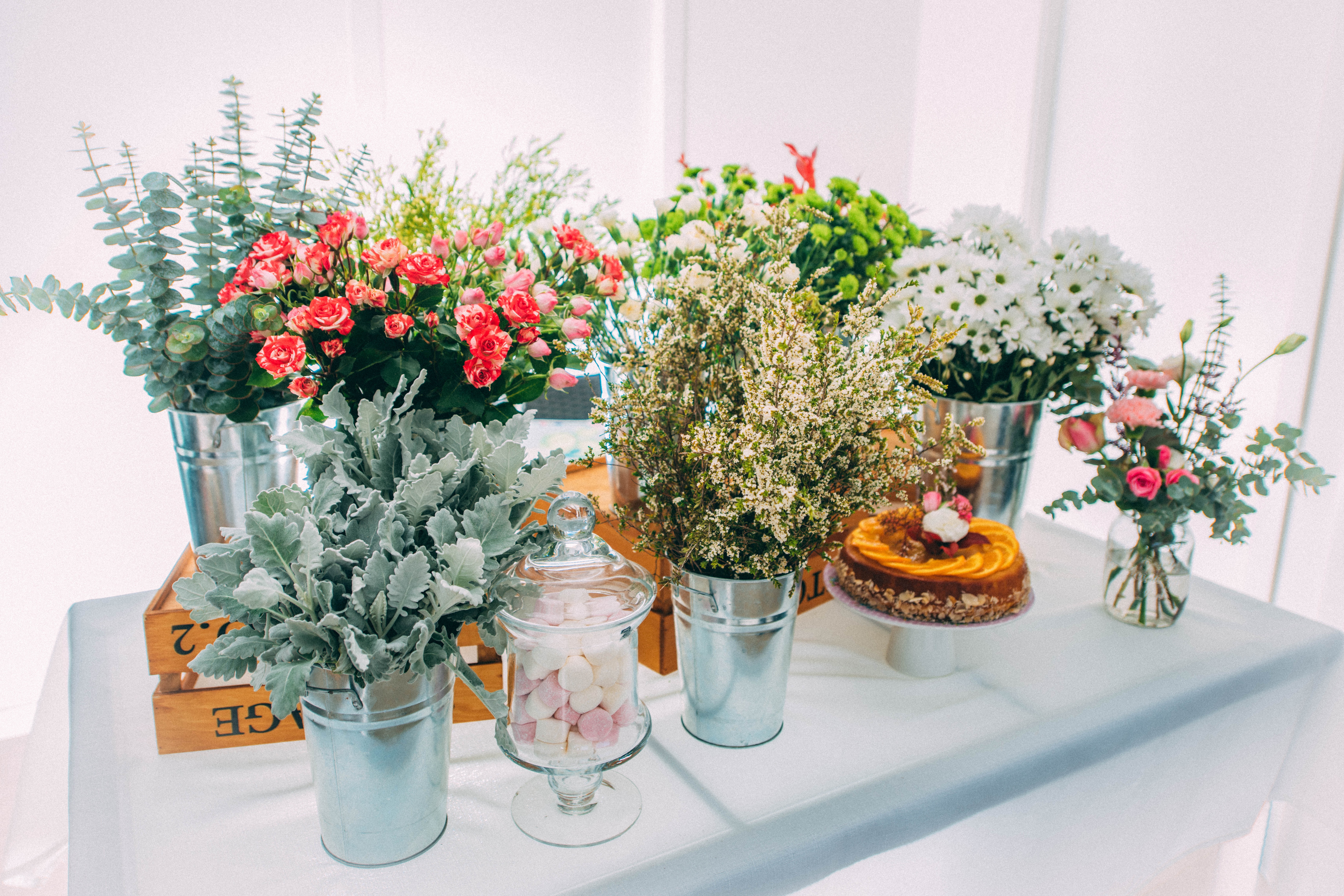 Graceful Blooms Mortdale events florist - flower crown party