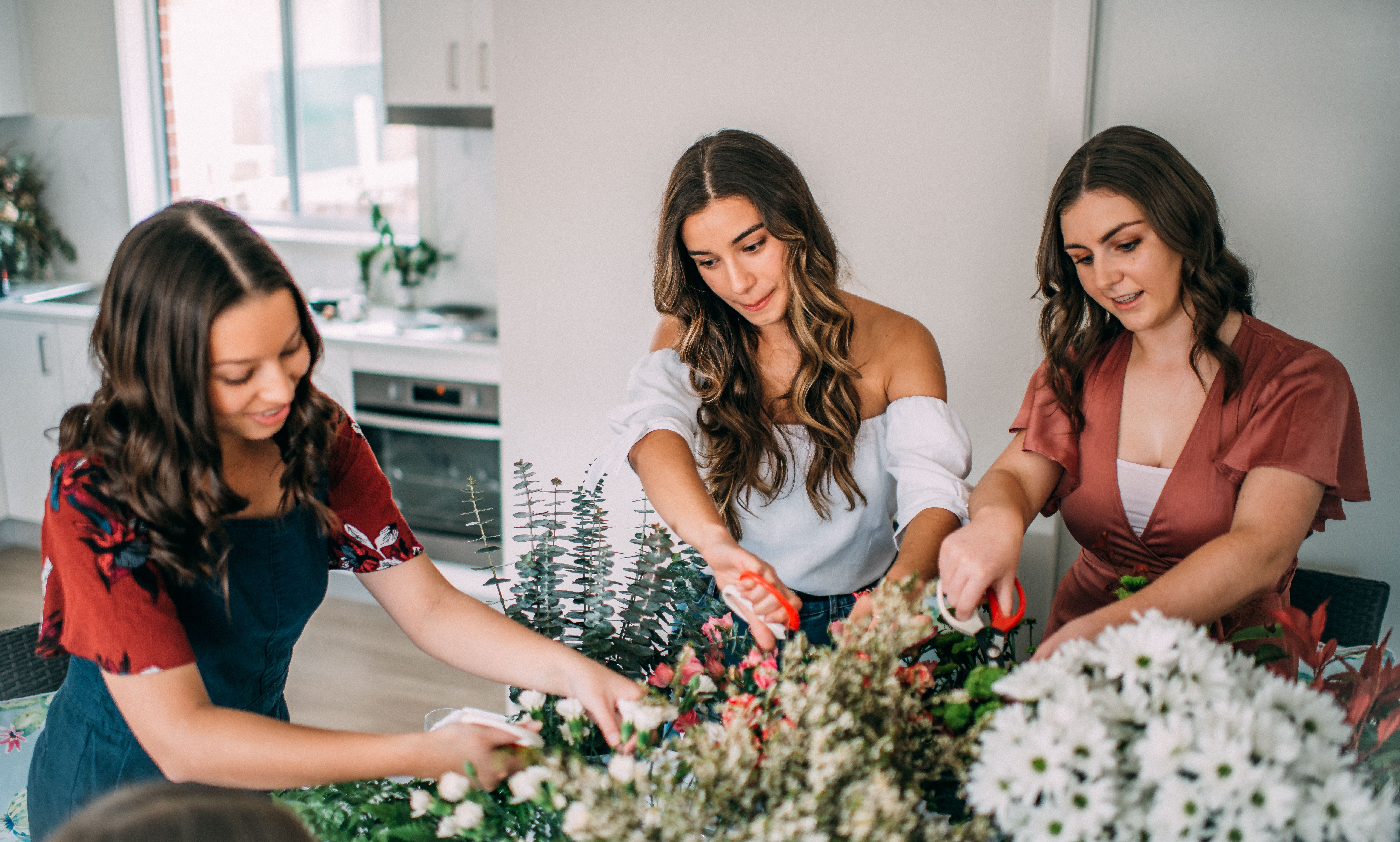 Graceful Blooms Mortdale events florist - flower crown workshop