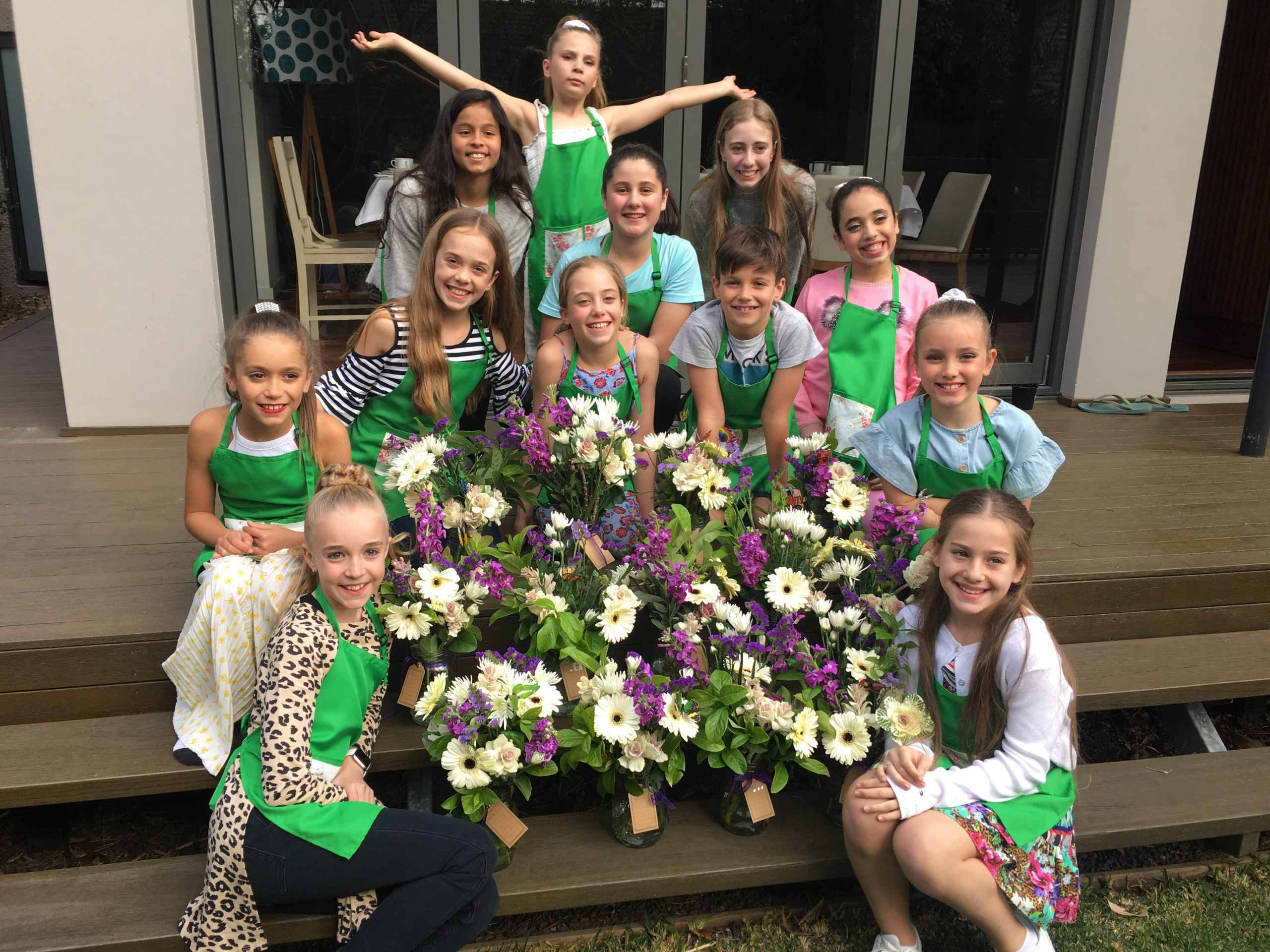 Graceful Blooms Mortdale Kids Flower Party