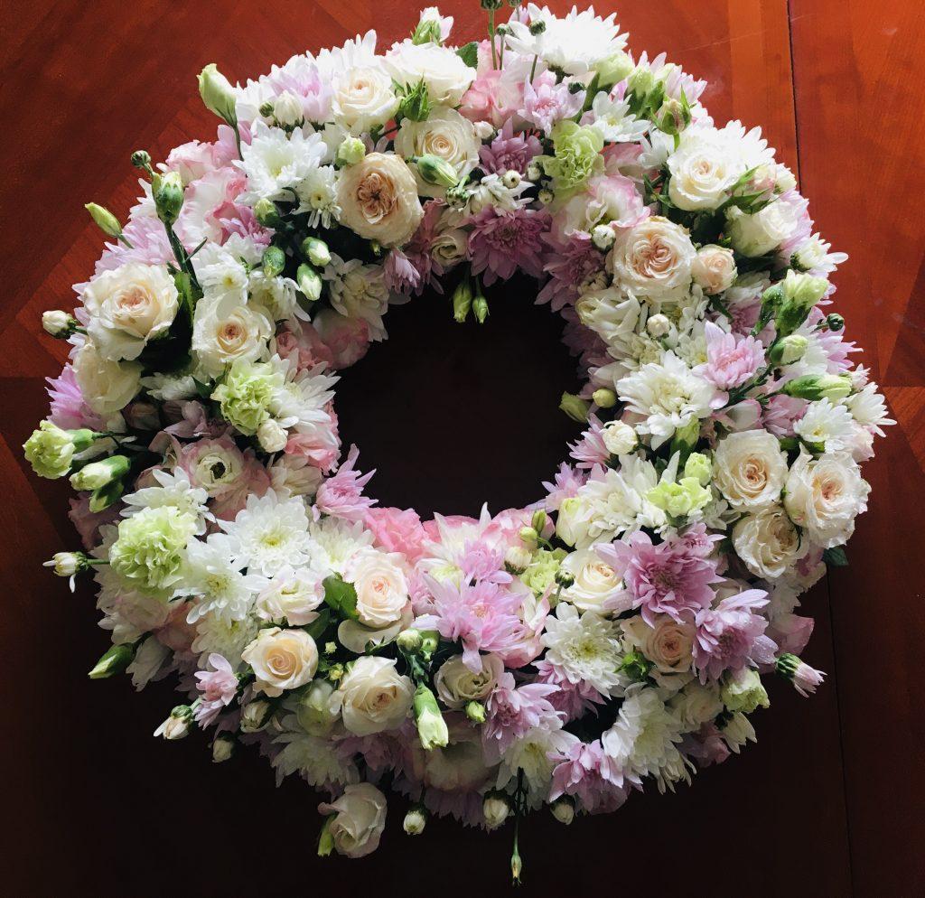 Graceful Blooms Mortdale Funeral Sympathy Flowers Wreath