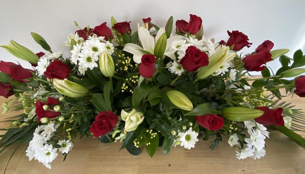 Graceful Blooms Mortdale Funeral Sympathy Casket Flowers